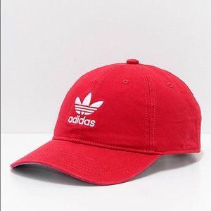 Red Adidas Women's Hat